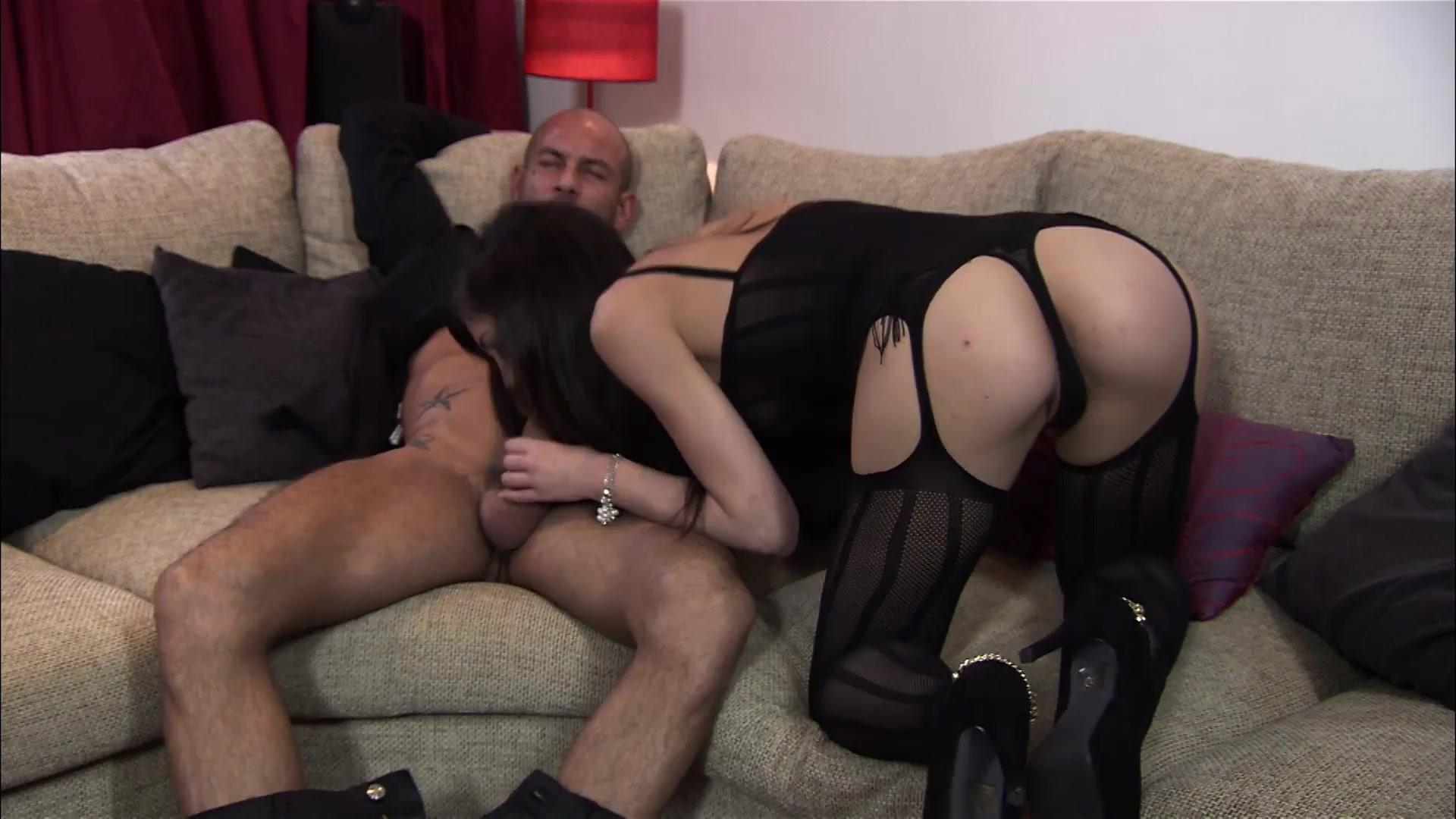Alexandra Stein Sexy Porn classy brunette alexandra stein swallows a huge cum load