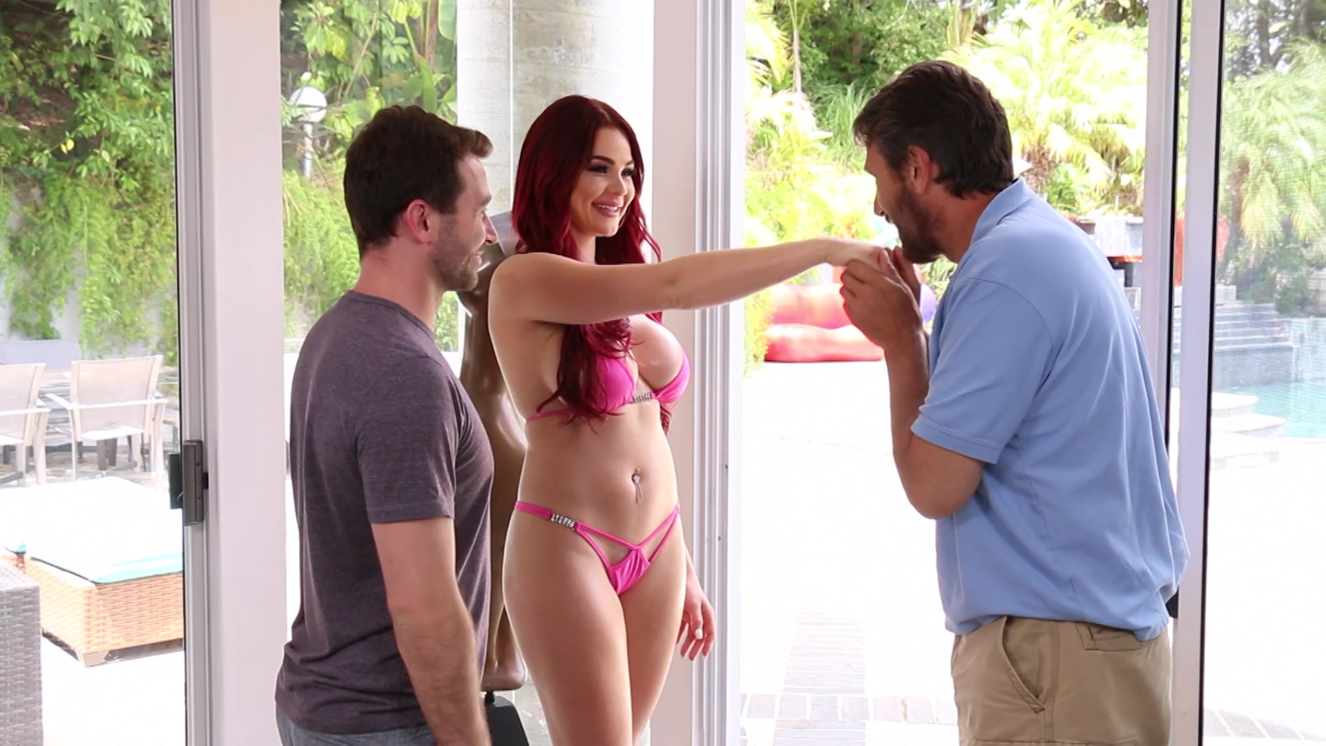 Skyla Novea Has First Dp With Father And Son Streaming Video At Elegant Angel Membership