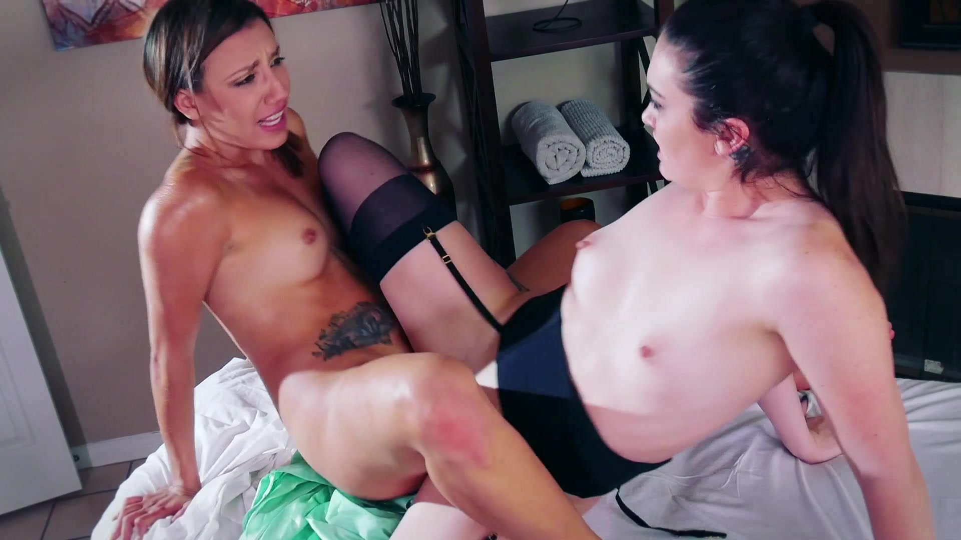 Kat Monroe and Sophia Grace Have Hot Lesbian Sex on the Massage Table from  Pussy Lickers 2   Spizoo   Adult Empire Unlimited