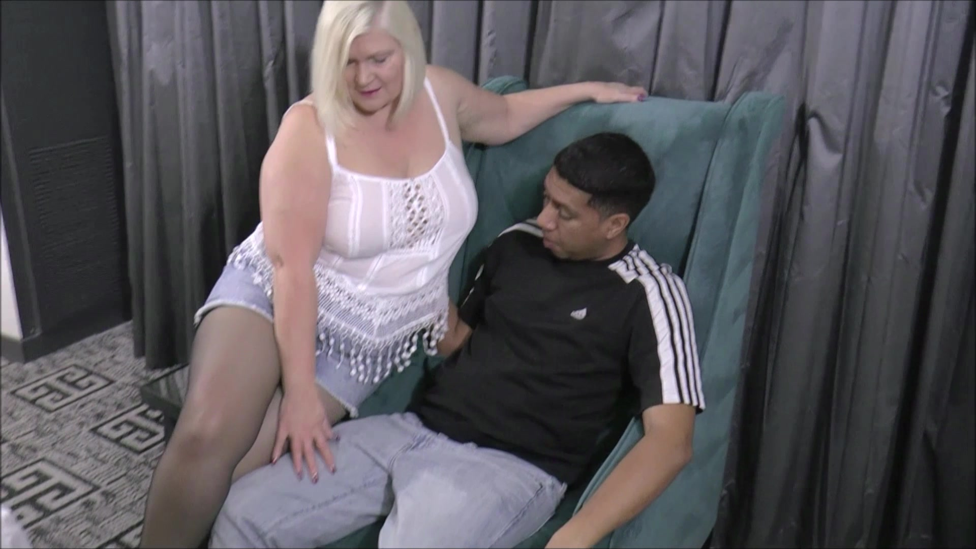 Blonde Granny Lacey Starr Fucks a Black Cock from Love Affair With Grandma  | Older Women | Adult Empire Unlimited