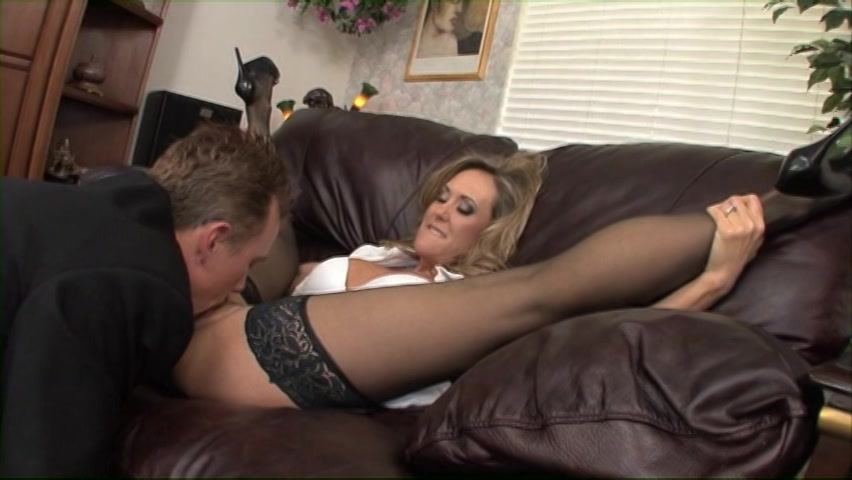 Hot blond lover sucks