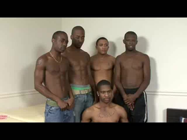 Muscular thug orgy and have