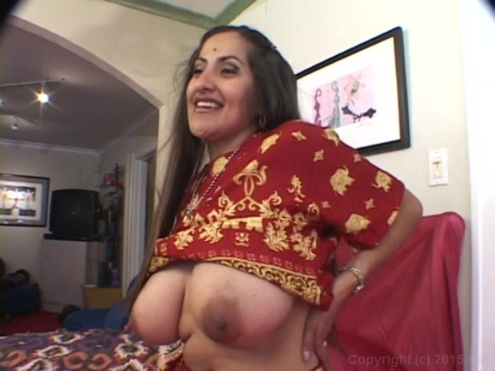 Big tit indian milf can