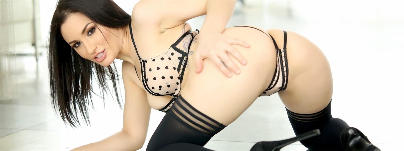 Gear knob pussy insertion