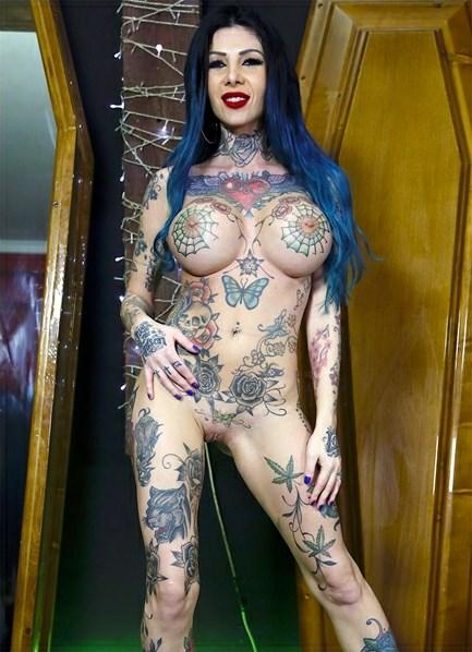 Megan Inky Bodyshot