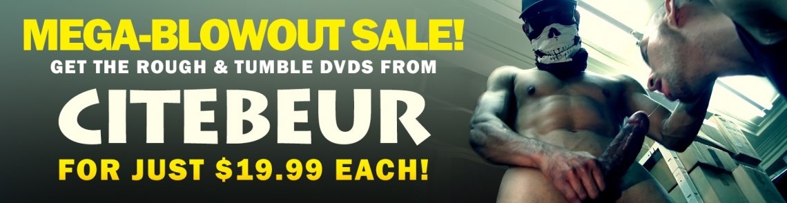 Shop Citebeur gay porn DVDs on sale for just $19.99.