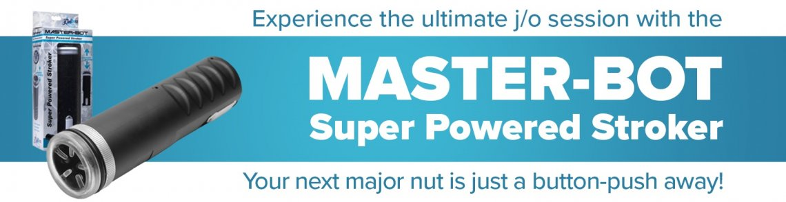 Buy Master Bot Super Powered Stroker sex toy from Icon Brands Inc.