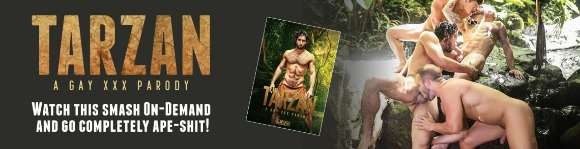 Stream Tarzan: A Gay XXX Parody gay porn streaming video from Icon Male.