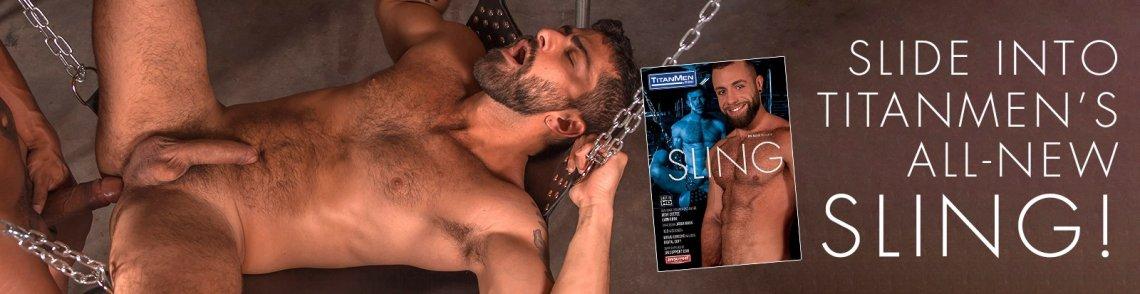 Buy Sling gay porn DVD from TitanMen.