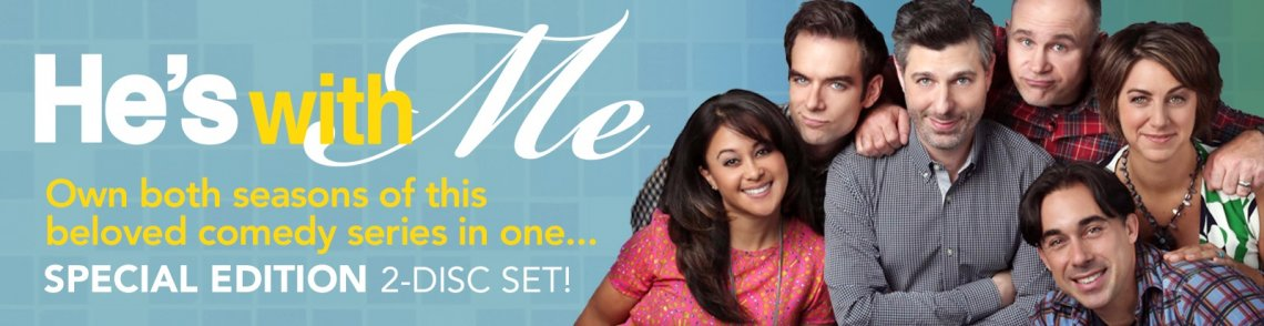 Watch He's With Me: Season One & Two gay cinema DVD from TLA Releasing.