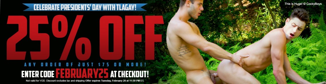Shop gay sex toys and save 25% with code FEBRUARY25 at checkout.