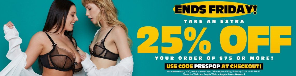 Save an extra 25% off your order of $75 or more.