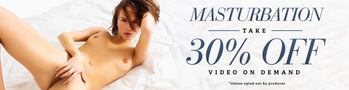 30% Off Masturbation Porn VODs!