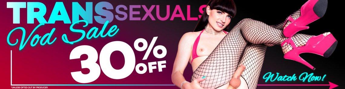 30% off Transsexual VODs!