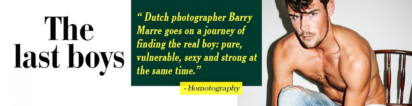 Buy Last Boys gay photography book from Bruno Gmunder.