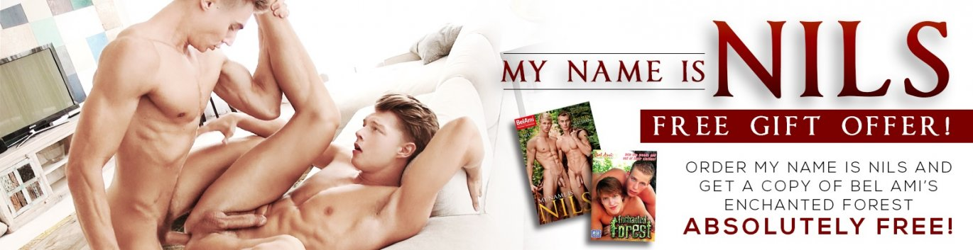 Get a FREE DVD with your order of Bel Ami's My Name is Nils.