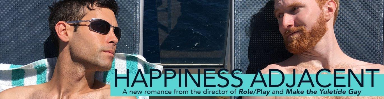Happiness Adjacent gay romance DVD at TLAgay.