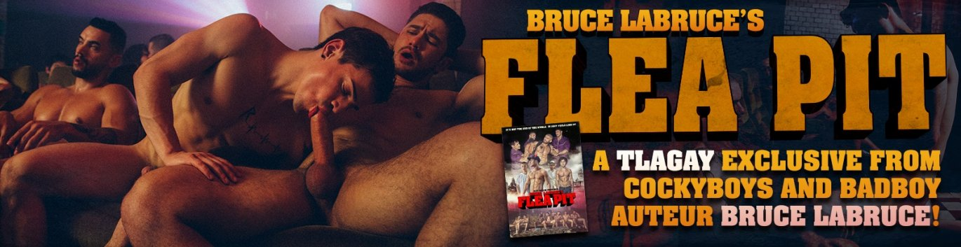 Order Bruce LaBruce's FLEA PIT gay porn DVD from Cockyboys!