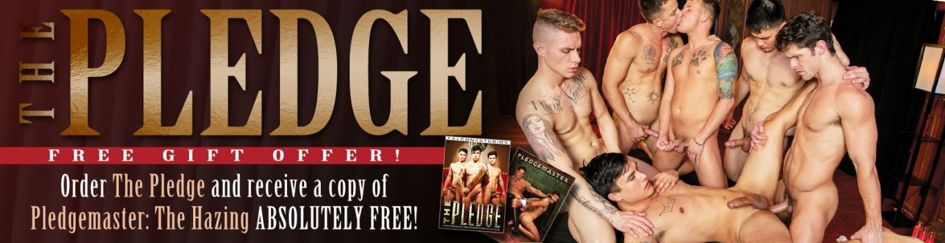 Order the Pledge Gay Porn DVD and get a FREE GIFT!