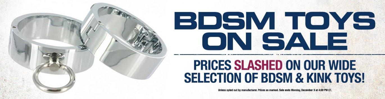 Shop for BDSM Sex Toys on sale now!