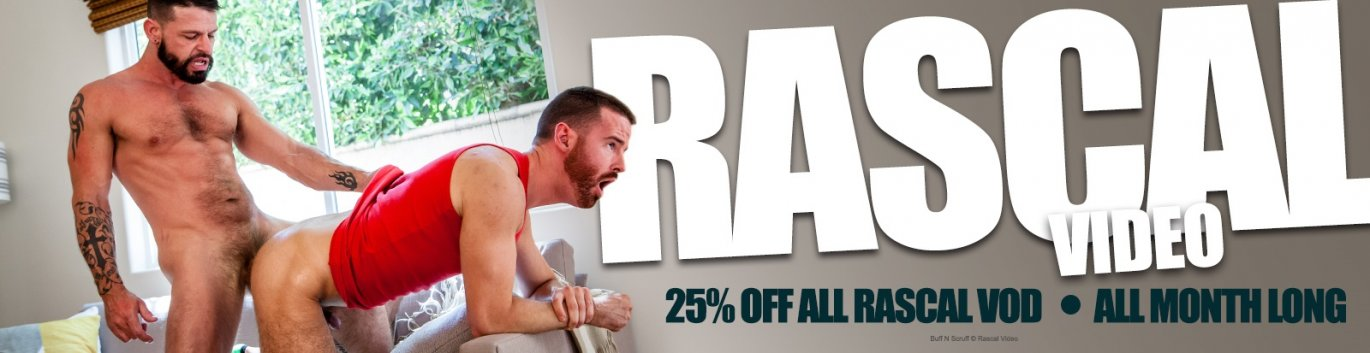 Watch Rascal gay porn VOD at 25% off the regular price.