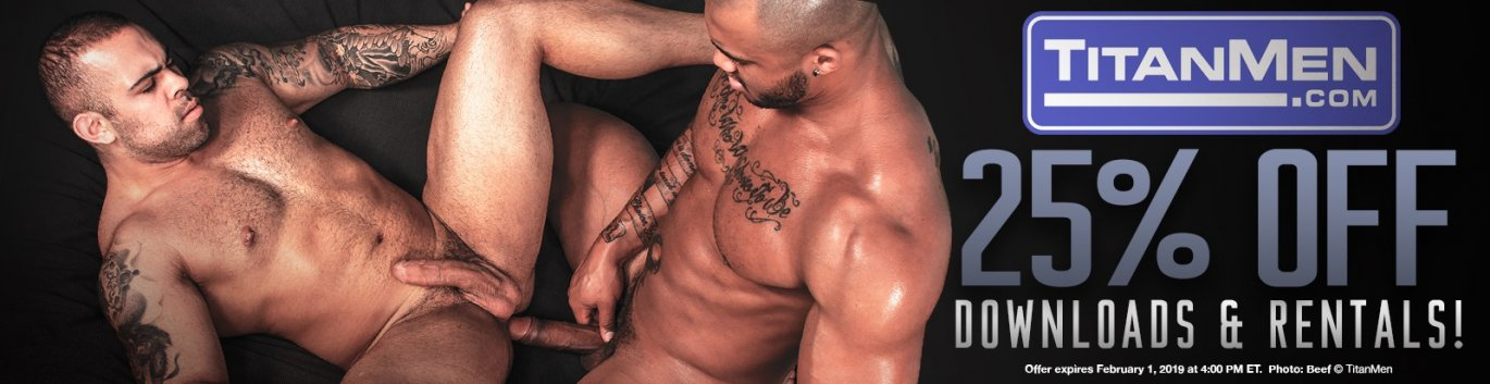 Take an extra 25% off all TitanMen VOD!.