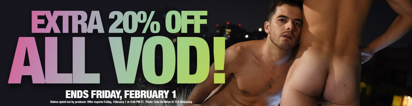 Take an extra 20% off all VOD.