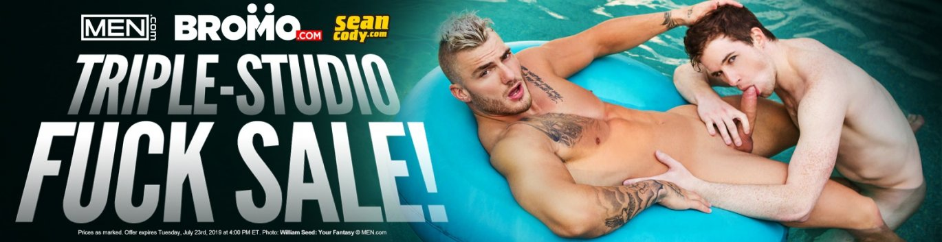Sean Cody, MEN.com and Bromo Gay Porn DVDs On Sale Now!