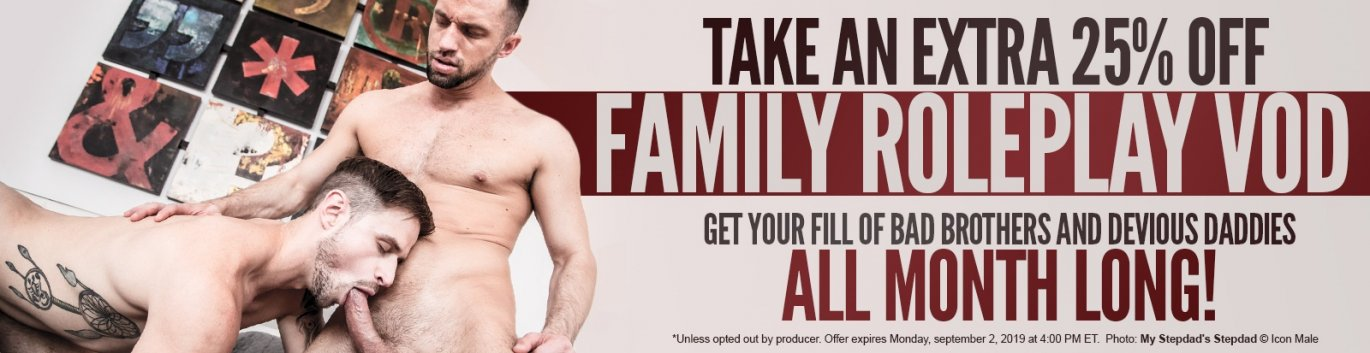 Take an extra 25% off all Family Roleplay VOD!
