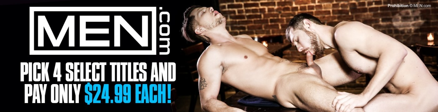 Shop these gay porn DVDs from MEN.com save when you buy 4.