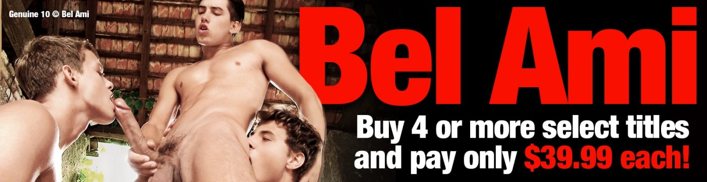 Shop these gay porn DVDs from Bel Ami save when you buy 4.