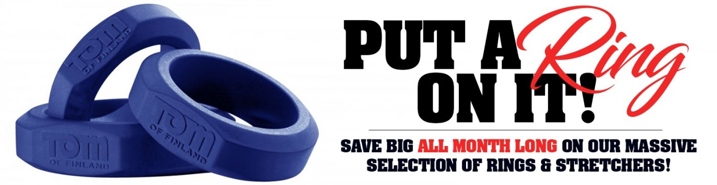 Buy cockring toys on sale now and save big.