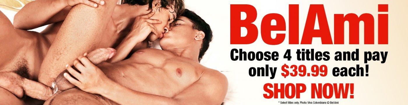 Bel Ami Gay Porn DVDs on sale now.