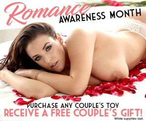 Purchase any couples toy and receive a free couples gift.