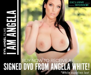 Buy I Am Angela and get a DVD autographed by Angela White.