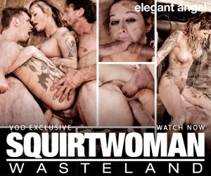 Kleio Valentien stars in Squirtwoman: Wasteland porn video.