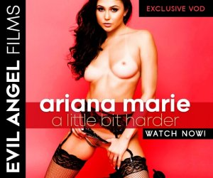 Ariana Marie stars in Ariana Marie: A Little Bit Harder.