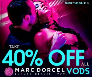 Buy Marc Dorcel porn videos at 40% off.
