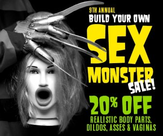 Sex monster Sale