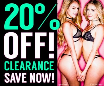 Buy 20% off clearance porn movies starring Lyra Law, Karla Kush, and more.
