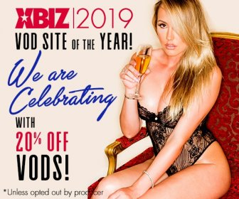 XBIZ 2019 VOD Site of the Year! Save 20% on VODs Today!