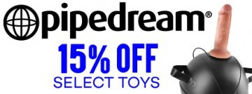 Save 15% on selected Pipedream Sex Toys today!