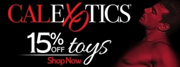 Browse our Cal Exotics Sex Toy Sale today and save 15% today!