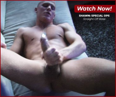 Shawn: Special OPS Gay Porn Video from Straight Off Base