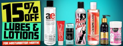 Shop lubes and lotions.
