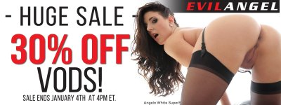 Evil Angel porn videos are on sale.