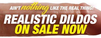 Realistic Dildo Sex Toys On Sale Now.