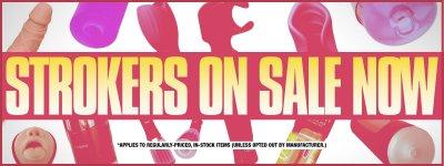 Masturbators & Strokers on Sale.