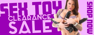 Shop sex toy clearance items.