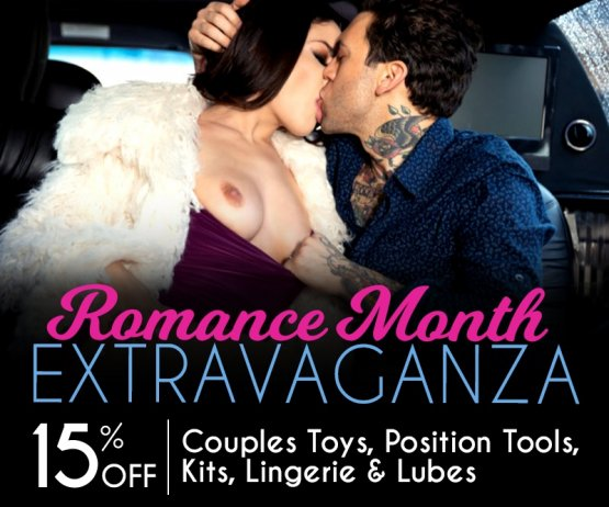 Save 15% Couples Toys, Kits, Lingerie & Lubes